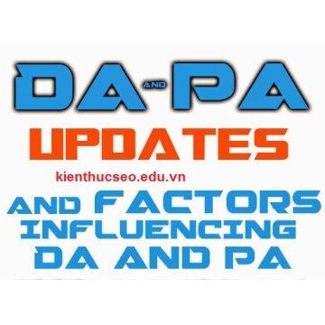 Thuật ngữ (DA) và (PA) trong SEO là gì?