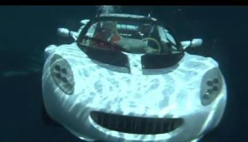 Sốt với chiếc xe lặn đại dương