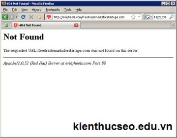 Những lỗi thường gặp ở Website của bạn