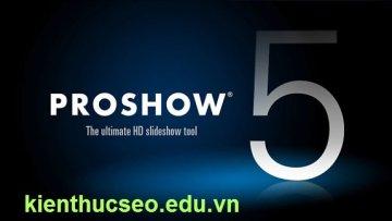 cách chèn logo vào video bằng proshow