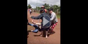 Vợ Trưởng công an và nhóm người đánh ghen kinh hoàng ở Gia Lai