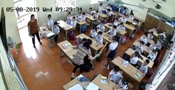 Xuất Hiện Video Cô Giáo Bạo hành hơn 15 Học Sinh Đến Nhập Viện, Cô Giáo Hải Phòng + 152.856 Lượt Xem Video