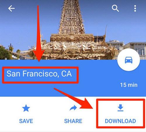 dung ban do cua google co can mang khong