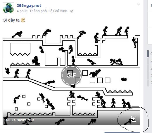 cách đăng ảnh gif lên facebook
